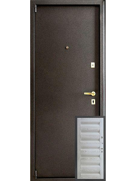 Входная дверь Монарх М-07 Ника (Светлая)