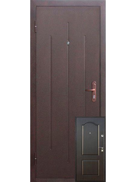 Входная дверь Стройгост 7 (Венге)