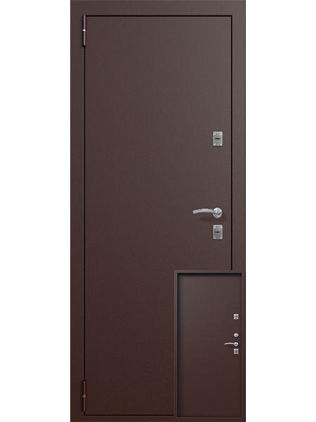 Входная дверь Termo Termolight (Металл/металл)