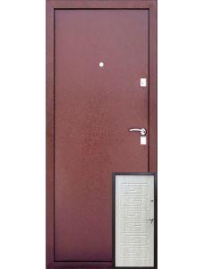 Уральские двери УД-105 (Беленый дуб)