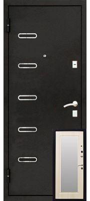 Уральские двери УД-110 (Беленый дуб)