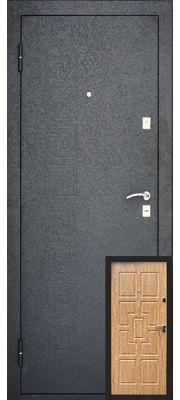 Уральские двери УД-115 (Карпатская ель)