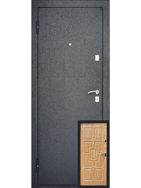 Входная дверь Уральские двери УД-115 (Карпатская ель)