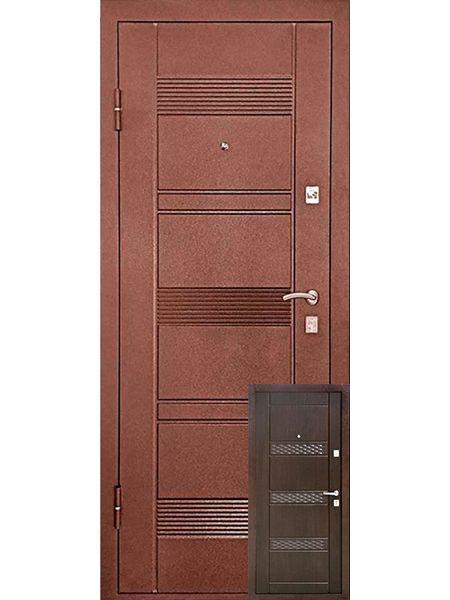Входная дверь Уральские двери УД-142 М (Венге)