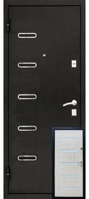 Уральские двери УД-145 (Беленый дуб)