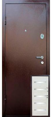 Уральские двери УД-322 (Беленый дуб)