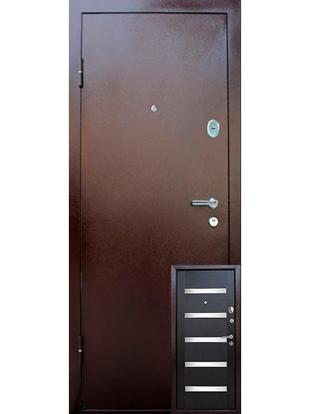 Входная дверь Уральские двери УД-322 (Венге)