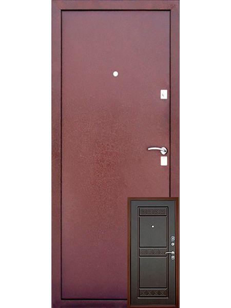 Входная дверь Уральские двери УД-418 (Венге)