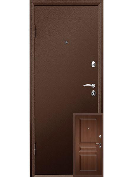 Входная дверь Valberg Практик MDF (Орех премиум)