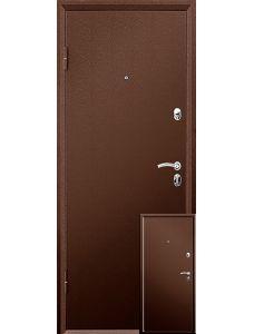 Двери Valberg Практик Металл-Металл (Медный антик)