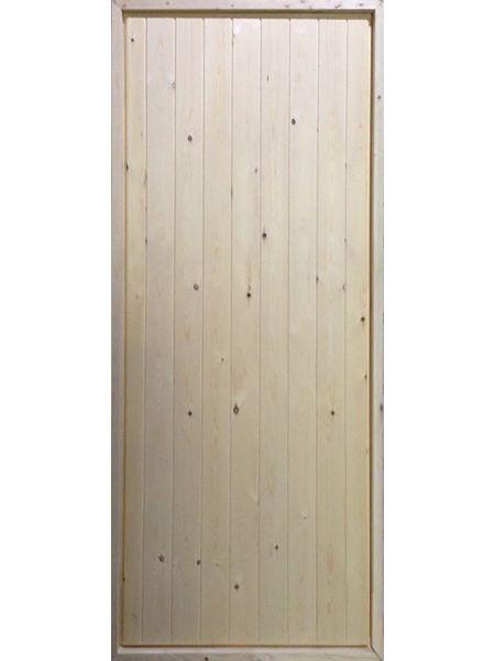 Входная дверь - Щитовая (Сосна)
