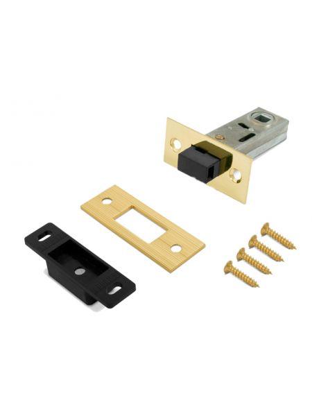 Защелка малая магнитная PALIDORE С-50М PB (Золото)
