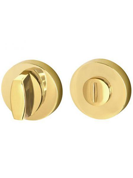 Ручка поворотная Armadillo WC-BOLT BK6/URB GOLD-24 (Золото 24К)